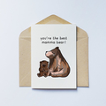 Mamma Bear Greeting Card