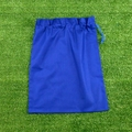 Medium cotton drawstring bag, choice of blue colours for storage, toys, library