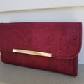 Cork leather wallets - available in 3 colours