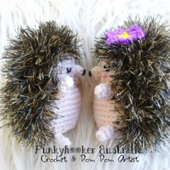Adorable Softie Hedgehog Pet Crochet Gift For kids