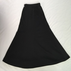 Ladies poly/cott 6-gore flip skirt