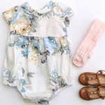Oriana Baby Doll Romper Playsuit - size 1