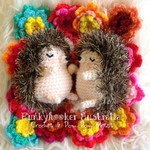 Hedgehog Softies Photo Prop Set Adorable Props or Gift