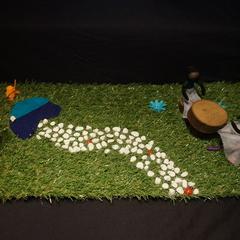 Yarn doll set