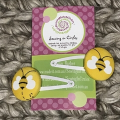 Bees hair clips