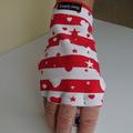 Glove: sun glove, right hand, sunprotection, fingerless for golf FREE post
