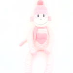 'Mabel' the Sock Monkey - Tooth Fairy Pillow - *READY TO POST*