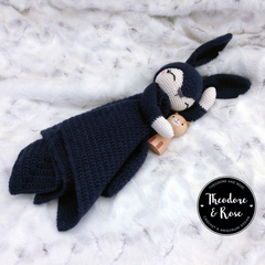Briggs The Sleepy Bunny  - Security Blanket Crochet Pattern
