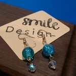 Delicate Dreamy  Turquoise dangle earrings