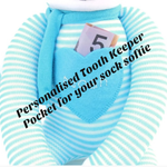 Personalised Felt Tooth Keeper Pocket for your Sock Softie