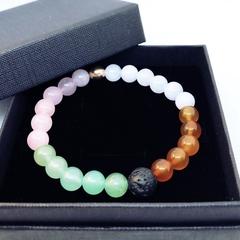 Aroma Diffuser Bracelet - Fertility / Pregnancy. SML, MED, LGE. XL. Rose Gold.