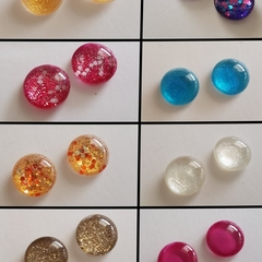 Stud earrings - multiple colours