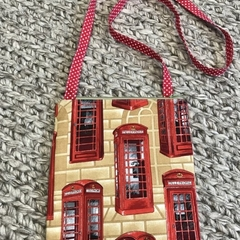 Telephone booths cross-body bag