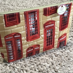 Telephone booths toiletries bag