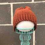 Baby Knit Beanie, Fold Up Wool Beanie, Slouchy Beanie, Winter Beanie, Kids Beani