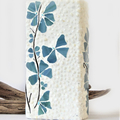 Vase in mosaic with a coastal feel...