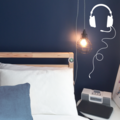 Headphones Vinyl Wall Decal