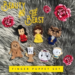 Beauty and the Beast Finger Puppet Set