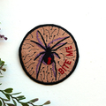 Red Back Spider Bite Me Embroidered and Iron on Patch