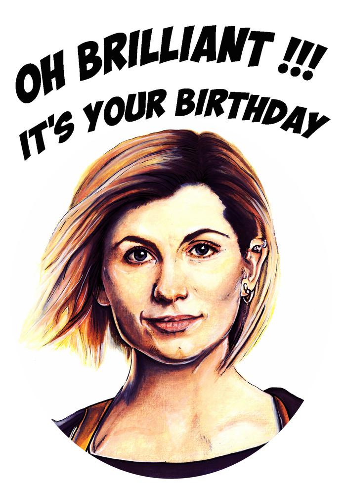 Doctor Who Birthday Card Kimwestart Madeit