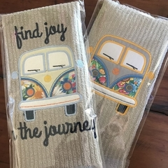 Kombi Van Tea Towels or Guest Towels
