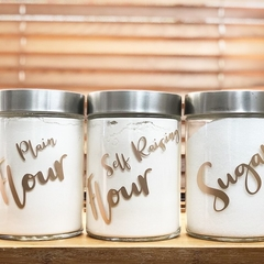 3 Sugar, FLour & SR Flour Labels