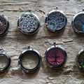 Memorial lockets that keep loved ones ashes close to your heart.