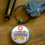 Medical Alert Keyrings - Epipen