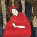 Red Riding Hood Art Quilt