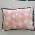 Patchwork cushion, decorative cushion,