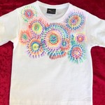 Dots and Spots Painted T-Shirt Size 4