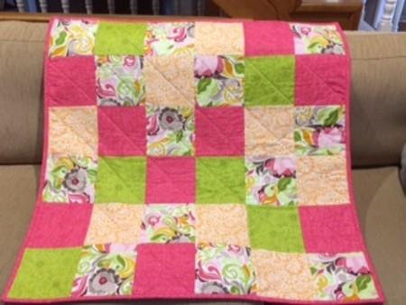 Quilt - Pink & Green