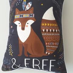 Woodland nursery cushion, decorative cushion, decorative pillow, baby shower gif