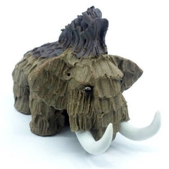 Elephant garden statue ceramic mammoth sculpture animal figurine home decoration