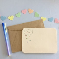 Love Heart Shower Notecards (set of 5)