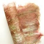Autumn colours silk fusion craft paper