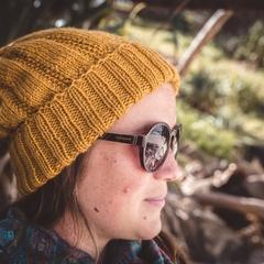 Mustard beanie, mustard knit beanie, mustard wool beanie, women mustard beanie,