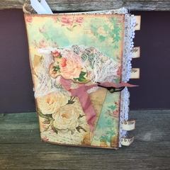 Note Book..... vintage junk journal style.