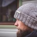 Grey women beanie, grey men beanie, beanies for women, Christmas gift ideas for