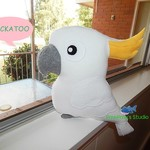 Cockatoo Plush / Soft Toy / Bird Softie / Bird Toy / Birthday Gift
