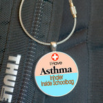 Medical Alert, Medic Alert - Bag Tag, Asthma