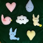 Party favours - Soft coloured pastel toys