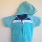 Boys Size 1 - Beach Towel Shirt/Pool Cover up