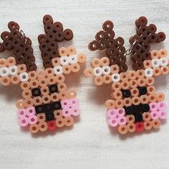 Rudolph Reindeer Christmas Earrings