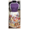 Blissful Moments ladies apron with multi colour feature panel