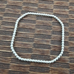 Solid Sterling Silver Bangle (small)