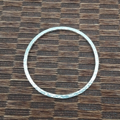 Solid Sterling Silver Bangle (medium)
