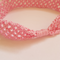 Baby Girl Headband 0-6 months Pretty Pink Strawberry Bliss