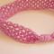 Baby Girl Headband 0-6 months Mauve  Bubblegum Pop