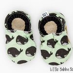 Whale Soft Sole Baby Shoes